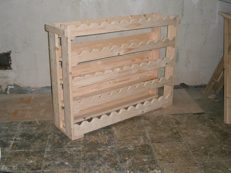 Favorito Guida] Costruire un portabottiglie di legno - howtozone.it GT16