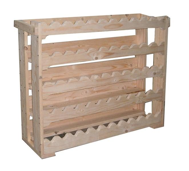 Guida costruire un portabottiglie di legno - Portabottiglie in legno da parete ...