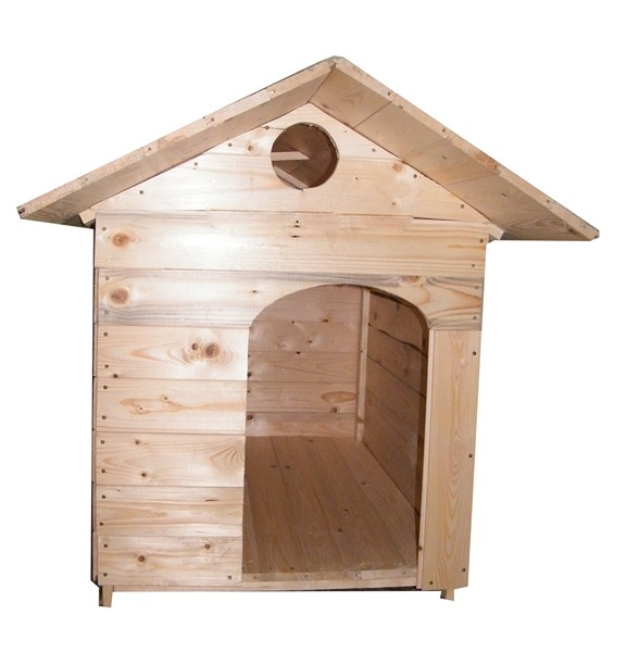 Guida come costruire una cuccia di legno per cani for Costruire una torre di osservazione
